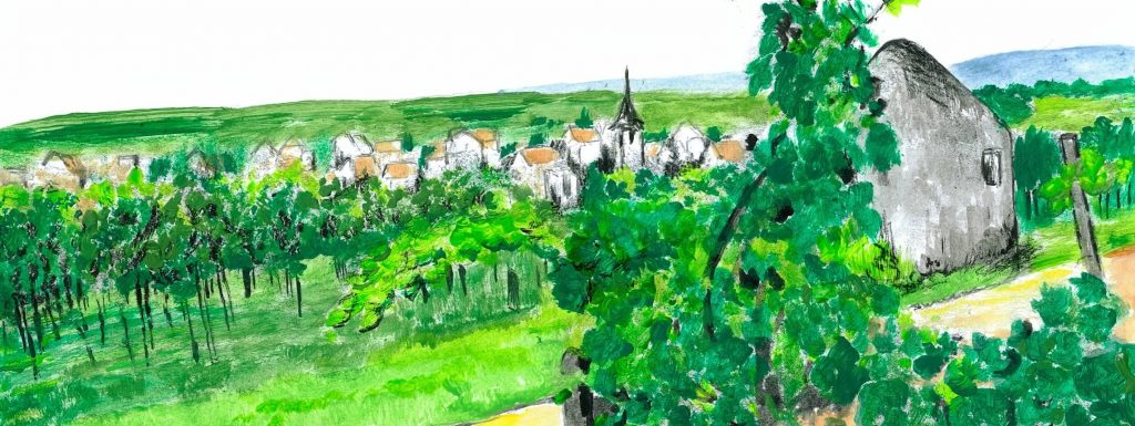 Bissersheim von Norden