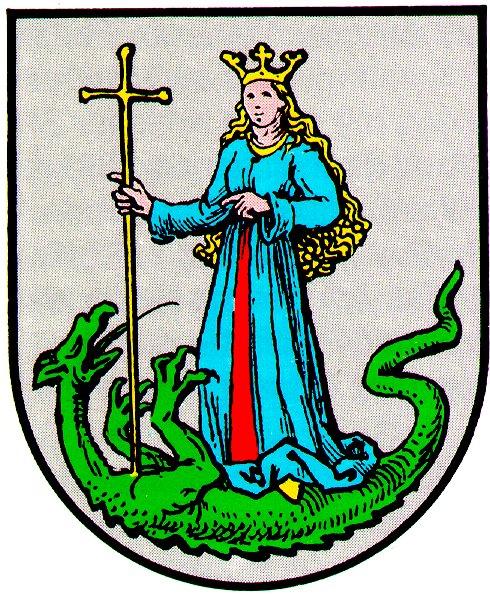 Heilige Margarethe und der Drache